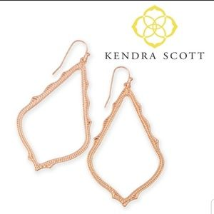 ■Kendra Scott■ Sophee Rose Gold Drop Earrings